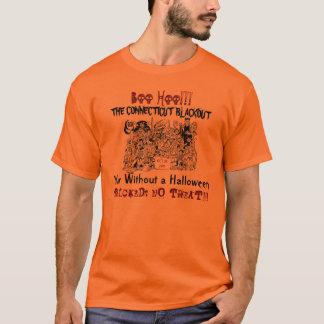 Jubileums- T-tröja för buHoo Connecticut blackout Tee Shirts