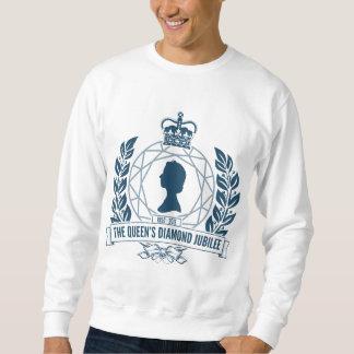 Jubileums- T-tröja för diamantjubileum Långärmad Tröja