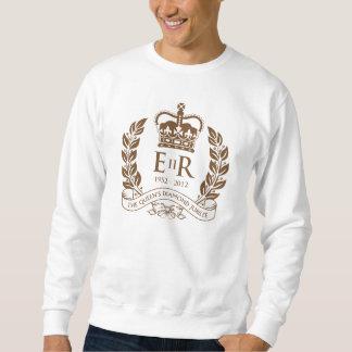 Jubileums- T-tröja för diamantjubileum Sweatshirt
