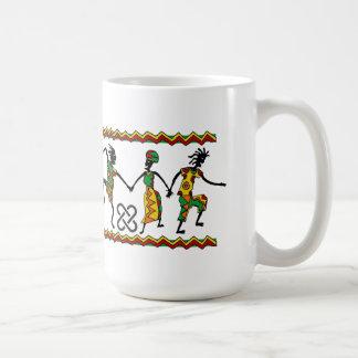Jubla den Kwanzaa muggen Kaffemugg