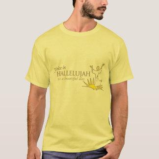 Jubla i härlig dagt-skjorta för hallelujah tröja