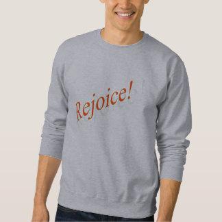 Jubla! rött sweatshirt