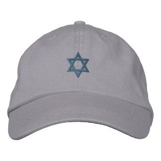 Judisk davidsstjärna broderad keps