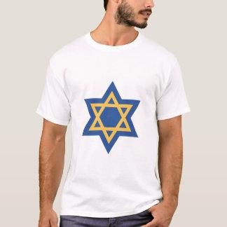 Judisk davidsstjärna tee shirts