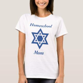 Judisk Homeschool mammadavidsstjärna T-shirts