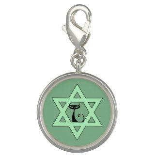 Judisk kattungedavidsstjärna charm