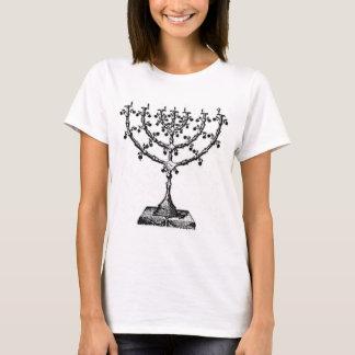 Judisk menora t-shirt