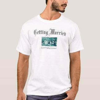 Judiskt bröllop tee shirt