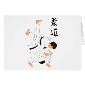 Judo Hälsningskort