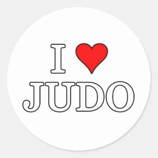 Judo Runt Klistermärke
