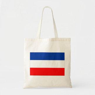 Jugoslavien flagga budget tygkasse