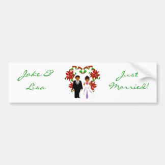 Jul December ny gifta mig bildekal