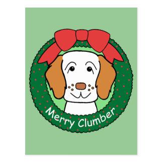 Jul för Clumber Spaniel Vykort
