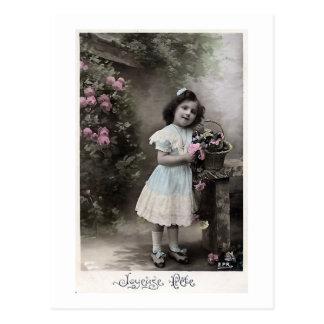 """Jul för fransk """"för Joyeuse Fete"""" vintage Vykort"""