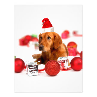 Jul för hatt för W röd Santa för guld- Brevhuvud