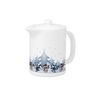 Jul för helgdag för snögubberenvinter