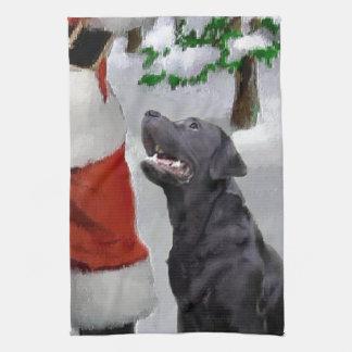 Jul för Labrador Retriever Kökshandduk