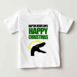 Jul för lycklig för rovfågelJesus något att säga Tee