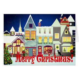 Jul för plats för personligliten stadgata hälsningskort