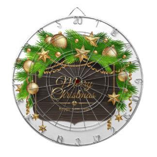 Jul helgdagar, dekorationer, firande darttavla