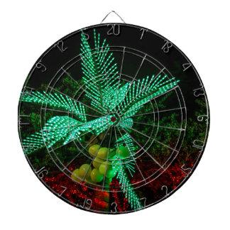 Jul helgdagar, glädje, gröna färger, träddekor darttavla