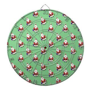 Jul helgdagar, glädje, gröna färger, träddekor piltavla