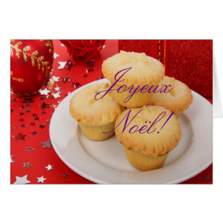 Jul Joyeux Noel III Hälsningskort