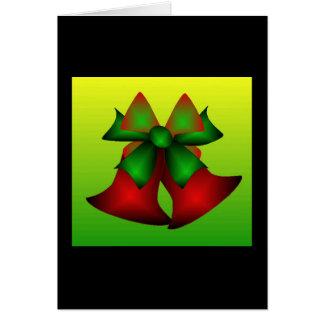 Jul Klockor Hälsningskort