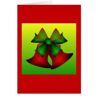 Jul Klockor II Hälsningskort