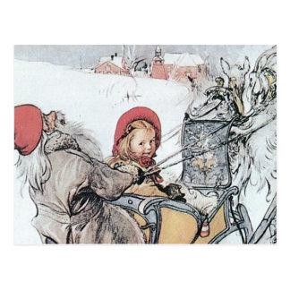 Jul Nisse och Kirsti Vykort