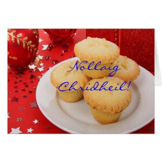Jul Nollaig Chridheil Hälsningskort