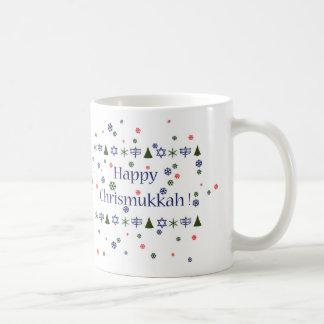 Jul och Hanukkah Combo mugg Kaffemugg