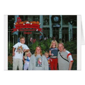 Jul på Disneyland Hälsningskort