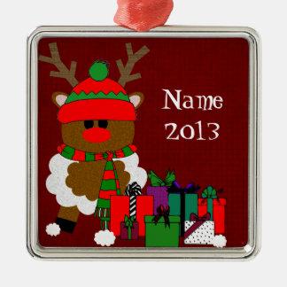 Jul ren och presenter juldekoration