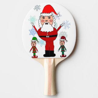 Jul Santa och älvor Pingisracket