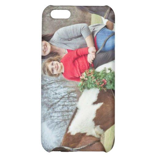 Jul som är rida i stilkran och alla iPhone 5C mobil skal