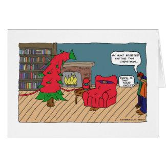 Jul som sticker kortet hälsningskort