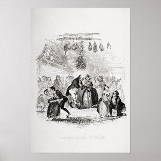 Julafton på Herr Wardles Poster
