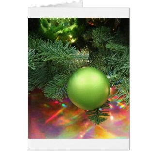 Julaftondekoration Hälsningskort