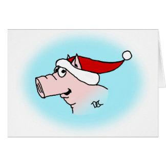 Julaftongriskort OBS Kort