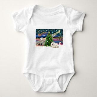 JulaftonMagi-Pekingese-Vit T-shirt