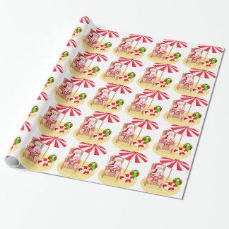 julaftonstrandjultomten presentpapper
