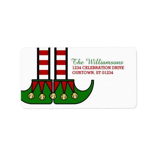 Julälvaadressetiketter Adressetikett