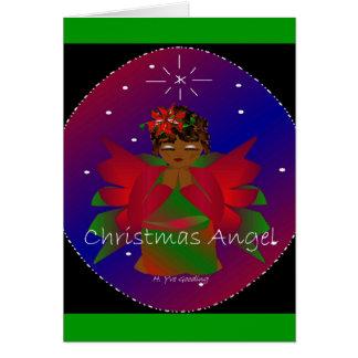 Julängel Hälsningskort