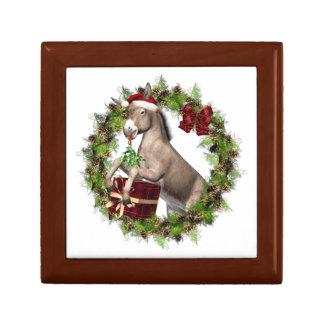 Julåsnan Santa träKeepake boxas Presentskrin