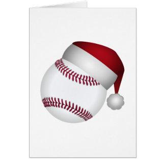 Julbaseball Hälsningskort