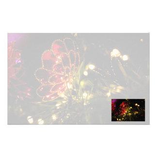 JulBauble med felikt ljus Brevpapper