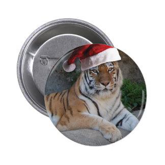 JulBengal tiger Standard Knapp Rund 5.7 Cm