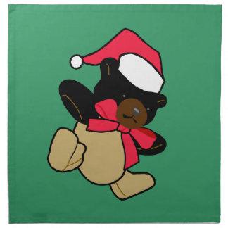 Julbjörnservetter Tygservett