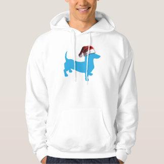 Julblåtttax Sweatshirt Med Luva